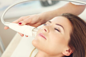 soins de la peau a l'oxygene