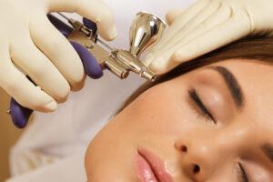 soins du visage a l oxygene